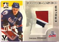 2005-06 ITG Heroes & Prospects Game-Used Emblem Lawrence Nycholat Vault 1/1