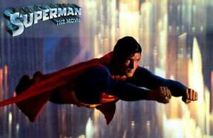Superman: The Movie POSTER 11 x 17 Christopher Reeve, Margot Kidder, F