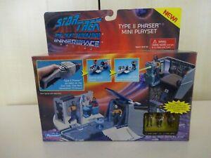 STAR TREK INNERSPACE TYPE 11 PHASER  MICRO MACHINES PLAYSET PLAYMATES 1995 MINT