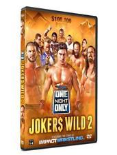 TNA One Night Only: Joker$ Wild 2 DVD, Impact Wrestling EC3 Bobby Roode Abyss