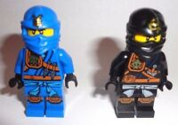 2 Lego Ninjago cole and jay Minifigures Zukin lot new minifig