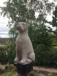 Boxer / Mastiff Garden Ornament Dog FREE POSTAGE 5 Inches high