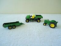 """Lot Of 3 John Deere Farm Vehicles / Implements """" GREAT COLLECTIBLE LOT """""""