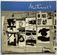 Motherwell by Frank O'Hara, MoMa Exhibition Catalog, 1965