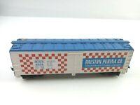Tyco HO Scale Train Box Car Ralston Purina Co. MRS 4554 Vintage