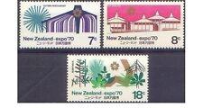 New Zealand 1970 EXPO - OSAKA, JAPAN (3) Unhinged Mint SG 935-7
