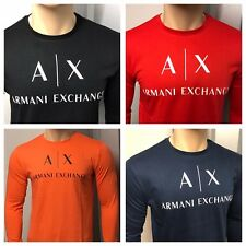 Armani Exchange Long Sleeve T-Shirt with 8 Colours, Size  S,M,L,XL,2XL