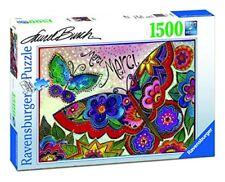 Puzzle Ravensburger 1500 Laurel Burch mariposas de colores