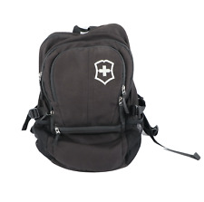 "Victorinox Spell Out 15"" Laptop Holder Backpack Book Bag Carry On Bag Black"