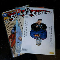 "COMICS      ""SUPERMAN""   Band 1 - 3      Zustand  0/1 bb"