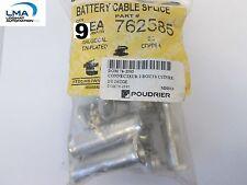 9x Ta Techspan 762585 Battery Cable Splice Copper Connector 20 New
