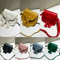 Kid Girl Handbag Cute Small Shoulder Bag Wallet PU Leather Messenger Bag AU