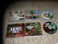 2 PC Games: Army Men & Army Men II 3DO