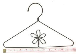 """3X  Wire Quilt Hanger  12"""" x 7-1/2"""" High  """"Flower in Centre"""" Theme"""