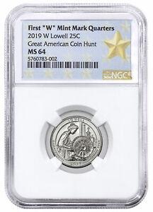2019-W Lowell NP America the Beautiful Quarter NGC MS64 WP Star Label SKU58847