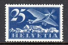 Switzerland - 1923 Airmail -  Mi. 180z (Grilled) MH