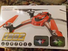 SpaceRail F802 Remote Control Quad-Rotor Helicopter, 4-Ch, 2.4Ghz With Camera
