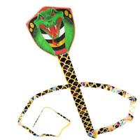 7m Snake Shape Kite Outdoor Funny Flying Toys Garden Cloth Children Toy PRO#