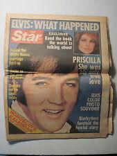 Star Magazine 9-6-1977. Elvis Presley Death. Priscilla Presley.