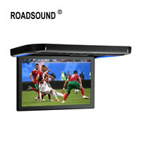 "HDMI 12.1"" LCD TFT Car/SUV/TRUCK Flip Down Roof Mount Monitor USB Ceiling IR"