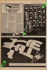 The The Uncertain Smile Advert NME Cutting 1982