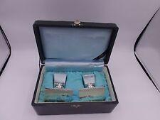 Japan silver 950 hallmarked 2 Candlesticks in Box  K. Uyeda Silber
