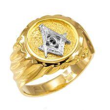 14K Gold Masonic Ring EJMR29826