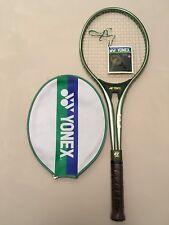 "YONEX 8600 4 5/8"" Racchetta Tennis Racket vintage In alluminio con fodero"