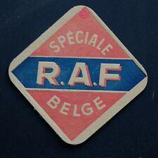 Spéciale Belge R.A.F. Sous-bock bierviltje bierdeckel coaster