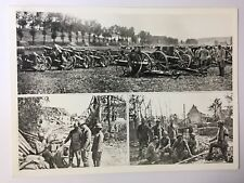 photo presse ww1  Somme  5 photos