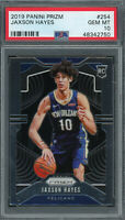 Jaxson Hayes Pelicans 2019 Panini Prizm Basketball Rookie Card RC #254 PSA 10