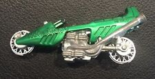 Vintage 1970s Hot Wheels Redline Rrrumblers Straight Away Green Motorcycle