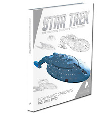 Designing Starships libro 2-Eaglemoss STAR TREK design 30 navi NUOVO OVP