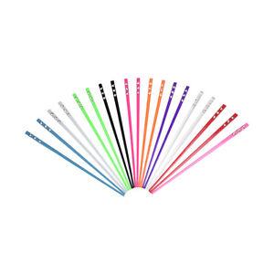 2 Colorful Hair Sticks w/3 Gemstones Inlaid on Top Chopstix Girls Hair Accessory