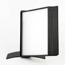 A4 Flip File Display for Posters Table Top Flip File Info Display Stand