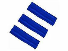 3 Large Bleu royal Stretch Bandeau Cheveux Bande Bandeau Sport Danse Gym Entraînement