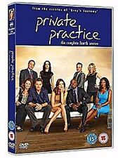 PRIVATE PRACTICE COMPLETE SERIES 4 Timothy Daly, Audra McDonald NEW UK R2 DVD