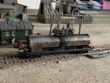ROCO, HAND PAINTED WEATHERED TANK WAGON, SCALE HO
