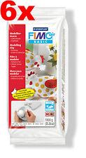 [1kg=4,57€] FIMO air basic 6x 1000g Weiss (0) lufthärtende Modelliermasse [0003]