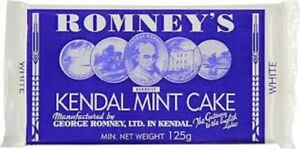 Kendal Mint Cake Romney's White Kendal Mintcake   3 x 125g Bars