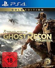Tom Clancy's Ghost Recon: Wildlands (Gold Edition) (Sony PlayStation 4, 2017)