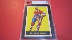 1960 Parkhurst #47 Henri Richard, Canadiens. ENM KSA 6