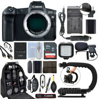 Canon EOS R Mirrorless 30.3MP Digital Camera Body + 64GB Pro Video Kit