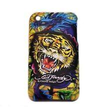Original Ed Hardy Tiger Hart Schale Tasche Case Schutz Hülle Apple iPhone 3G 3GS