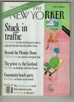 The New Yorker Magazine Stuck In Traffic & Seabrook September 2, 2002 100620nonr