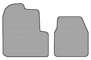 1993 - 2010 Freightliner Classic XL 2pc Custom Carpeted Front Floor Mats