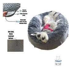 Donut Calming Dog Bed, Orthopedic Dog Bed, Cat Bed, Sofa Bed, Chew proof Bed