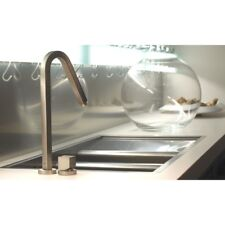 Gessi  Quadro Monoblock Mixer Kitchen Tap in Chrome 17457