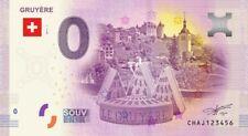 Billet Touristique 0 Euro - Suisse, Gruyère (la meule) - 2017-1
