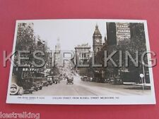 Collins Street from Russell Street Melbourne Victoria Australia Postcard